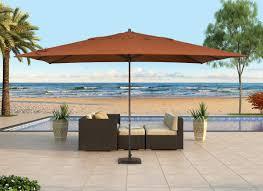rectangle patio table umbrella umbrellas78 patio