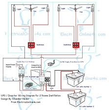 inverter home wiring diagram Home Electrical Diagram how to instill ups & inverter wiring in 2 rooms? home electrical diagram software