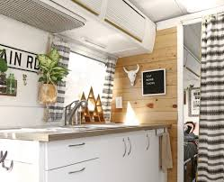 Airstream Interior Design Minimalist Awesome Inspiration