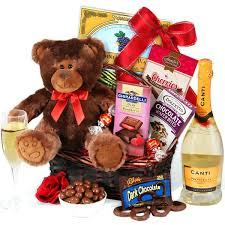 valentine gift baskets hampers for her ideas him diy