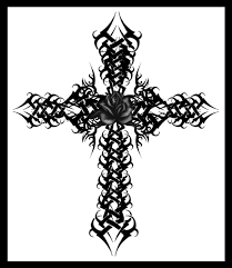 крест фото тату