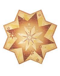 Eilles Adventskalender Weihnachtsstern Gold Eilles Tee Shop