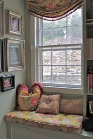 Decorations:Small Window Seating Design With Floral Theme Idea New Ideas  For Window Seating Decorating