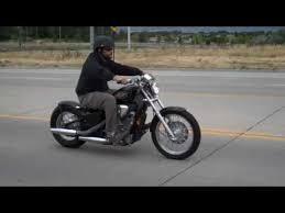 honda shadow 600 bolt on bobber kit ride youtube