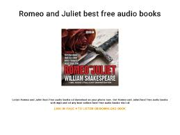 Romeo And Juliet Best Free Audio Books Inspiration Romeo And Juliet Best Images Download