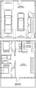 Plan W2225SL One Story Garage Apartment  EARCHITECTURAL DesignGarage With Apartment Floor Plans