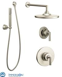 moen shower system attractive faucet com 925bn in brushed nickel by intended for 12