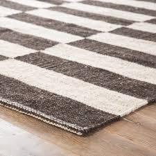 jaipur living demi handmade stripe dark gray cream area rug area rugs by jaipur living