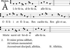 Image result for easter hymns o filii et filiae