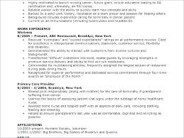 Cna Resume Sample And Resume Examples With No Experience Resume