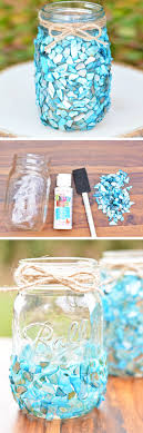 Small Picture 18 DIY Seashell Decorating and Craft Ideas Mason jar crafts