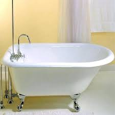 clawfoot tub in small bathroom small bathtub inch harmony petite tub remodeling small bathroom tub clawfoot