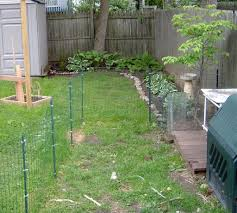 picture of dog fence and deck