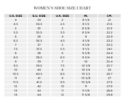Women S Shoe Size To Kids Conversion Chart Where Are Your Size Charts Vince Camuto