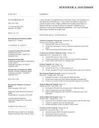 Nurse Objective Resume Nursing Objectives For Resume Nursing