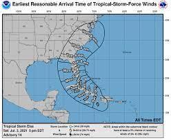 Where is Tropical Storm Elsa? Updates ...