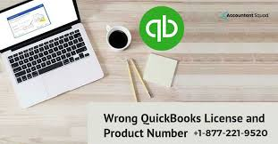 wrong quickbooks license and