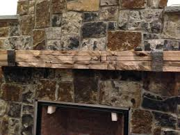 fireplace mantel a with iron strap reclaimed wood shelves mantels