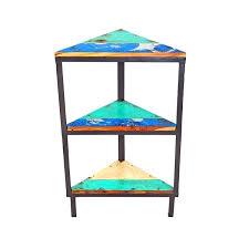 wooden corner shelves furniture. Simple Furniture Reclaimed Wood Corner Shelf Semaphore  Unit Throughout Wooden Shelves Furniture C