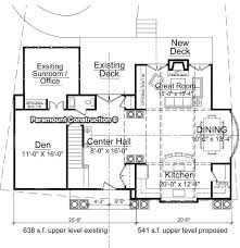 house addition plans. Home Addition In Bethesda Maryland 1st Floor Plan House Plans A