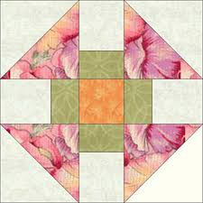 Free Quilt Block Patterns, F through L: Monkey Wrench Quilt Block ... & Free Quilt Block Patterns, F through L: Monkey Wrench Quilt Block Pattern -  4 Adamdwight.com
