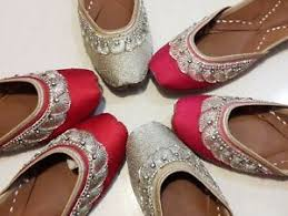 Mojari Size Chart Details About Punjabi Jutti Womens Indian Traditional Khussa Shoes Mojari Ethnic Shoes Jooti