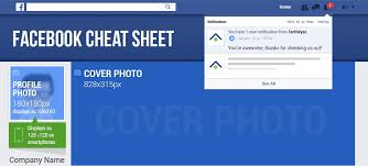 facebook icon size infographic facebook image size cheat sheet to create engaging ads