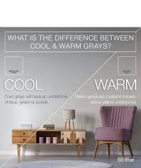 faq warm gray cool gray color palette