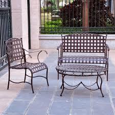vintage wrought iron garden furniture. Convertible Chair Vintage Wrought Iron Table And Chairs Outdoor Decor Garden Furniture Sets .