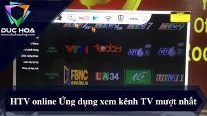 HTV online Ứng dụng xem kênh TV mượt nhất trên Vinabox - duchoashop.com -  YouTube