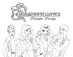 Coloring Pages Descendants 2 Coloring Pages Uma Best Of Images On