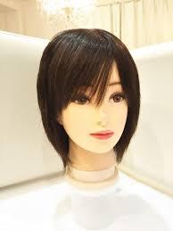 メルカリ 人毛100フルウィッグ吉瀬美智子ちゃん 美人ショート