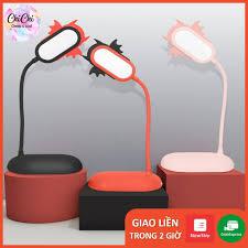 Đèn bàn học sạc tích điện DBH01 Chichi. Đèn led đọc sách chống cận cho trẻ  học sinh - Đèn bàn Hãng OEM