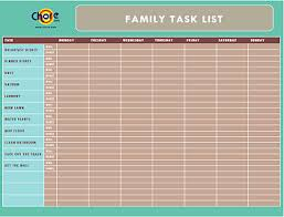 Family Chore Chart List Chore Com Chores Made Easy