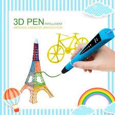 3d Stylo D Impression Moda Intelligent Non Toxique 3d Pen Avec