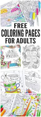 Free Coloring Pages For Adults Easy Peasy And Fun In Printable
