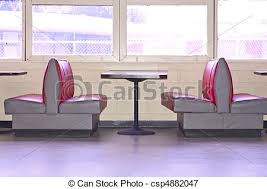 restaurant booth clipart. Contemporary Restaurant Retro Diner  Csp4882047 And Restaurant Booth Clipart E