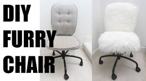 diy fur chair more serein