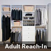 reach in closet systems. Providing Quality Closet Cabinets And Reach In Systems