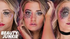 easy spiderweb makeup beauty junkie