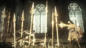 Dark Souls Light Spell Halflight Spear Of The Church Dark Souls 3 Wiki