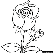 Coloring Pages Of Roses And Flowers Coloring Coloring Pages Rose