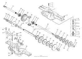 Murray 30576x10b rear engine rider rer 1997 parts diagram for