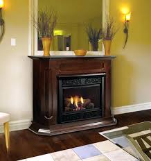 corner ventless gas fireplace free standing corner gas fireplace natural vent remote ready wall surround hearth corner ventless gas fireplace