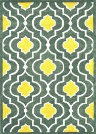 yellow grey area rug gray rugs design for and shuff