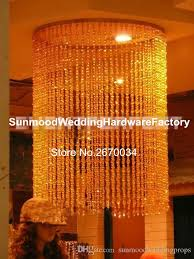 hangging only for wedding hall crystal chandelier table decorations wedding flower stand centerpieces