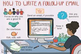 How To Write A Follow Up Email After Youve Submitted Your Resume