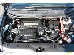 2007 Honda Civic Hybrid Sedan 1.3L SOHC 8V i-VTEC 4 Cylinder IMA ...