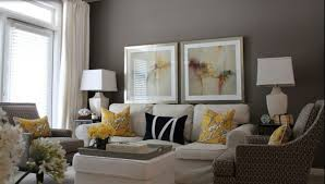 grey living room decor ideas indoor flower modern sofas contemporary sofas glass coffee table potted flower brown faux leather reclining sofa
