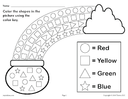 Shapes Within Shapes Worksheets Coloring Shapes Worksheet Free ...